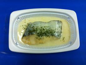 白身魚(ホキ)のクリーム煮