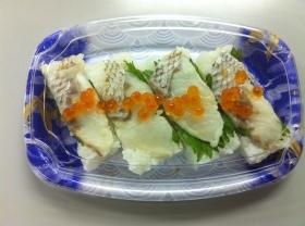 柚子〆鯛の押し寿司