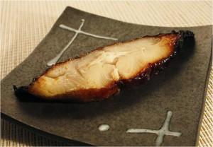 カラスカレイ西京焼き皿
