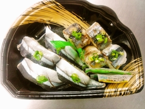 サンマ寿司